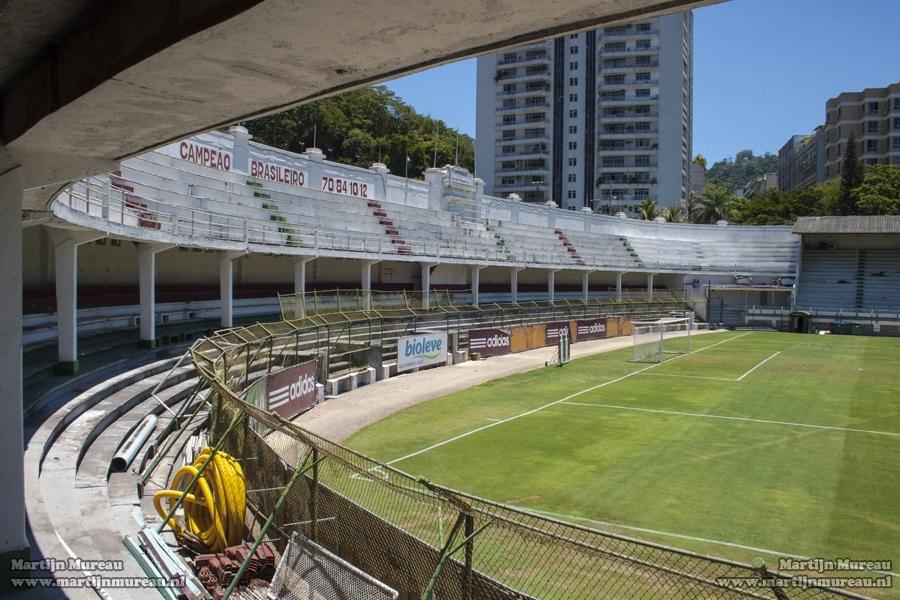 The stadium Estádio das Laranjeiras, former home of Rio de Janeiro based club Fluminense FC