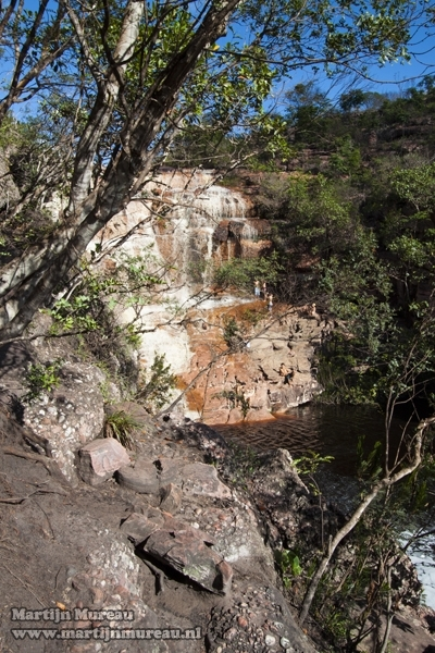 The Riachinho Falls, Chapada Diamantina, Bahia