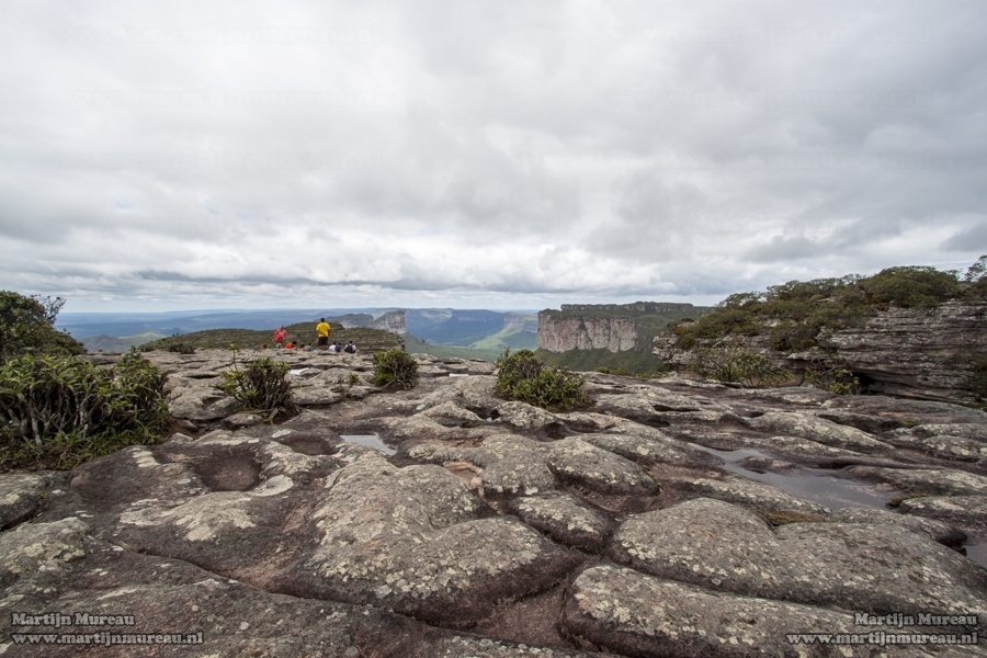 The magnificent view from Morro do Pai Inacio over the Chapada Diamantina
