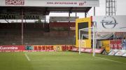 De staantribune van Stadion Achter de Kazerne, Mechelen