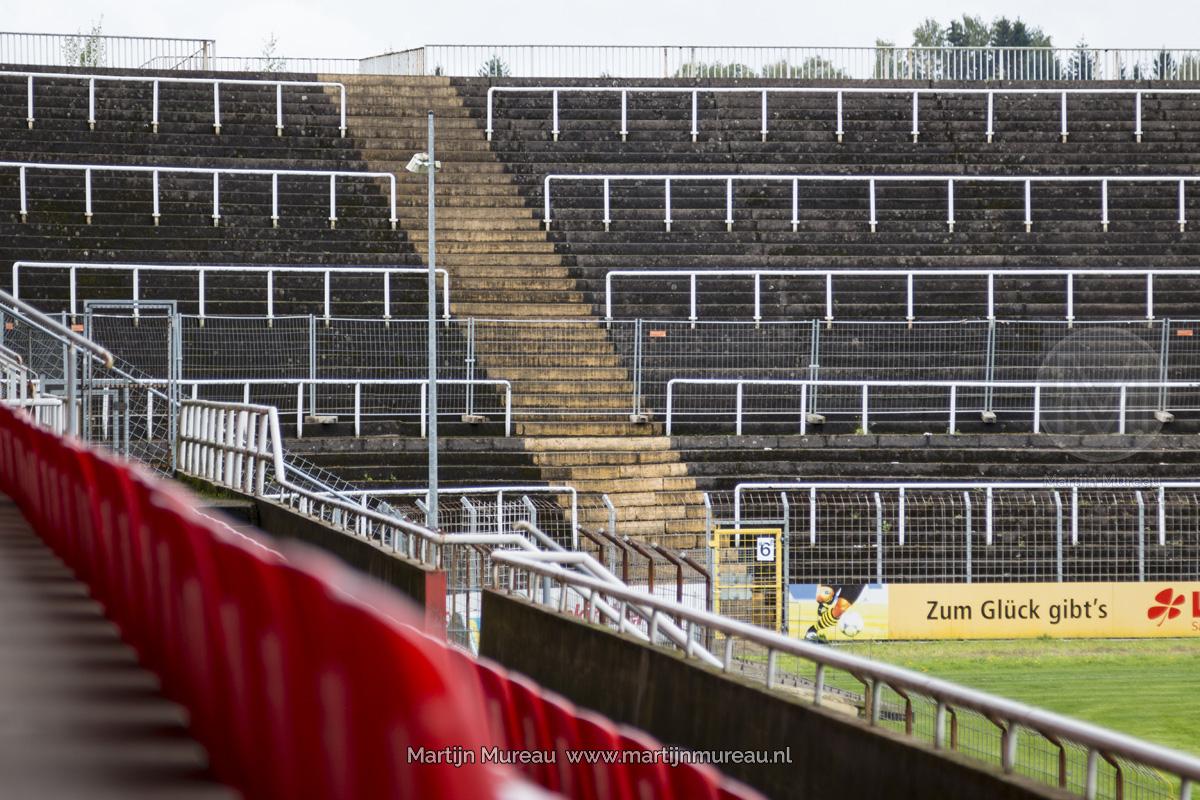 Ooit pasten 32.000 man in dit stadion