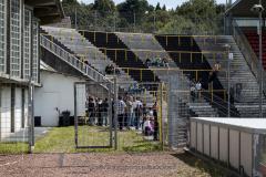 Het vak waar de fanatieke fans staan