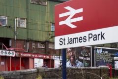 St. James' Park, de thuishaven van Exeter City
