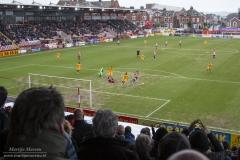 Exeter City - Newport County vanaf de Big Banks