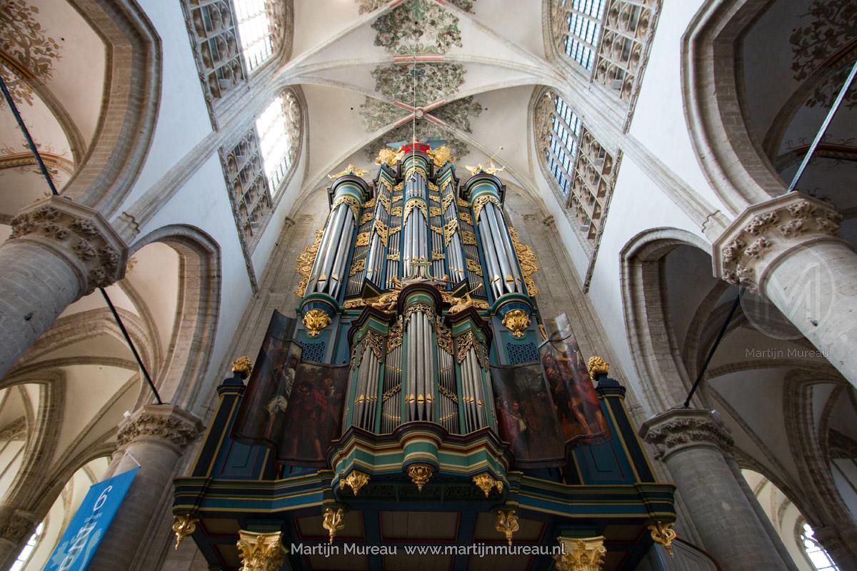 Het orgel van De Grote Kerk van Breda