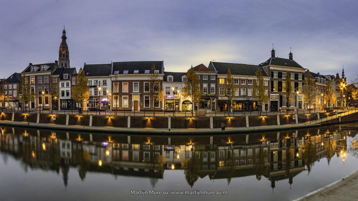 De Haven van Breda, vlak na zonsopgang