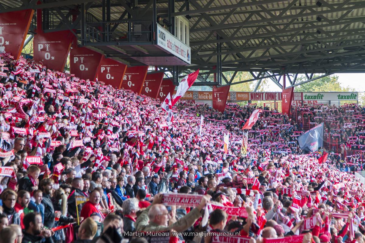 Fans van Union Berlin