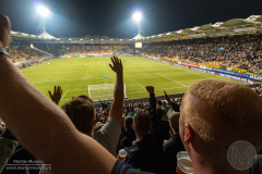 De harde kern van Roda JC ondersteunt zijn team