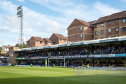 The south stand of Roots Hall