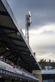 Floodlights at Roots Hall