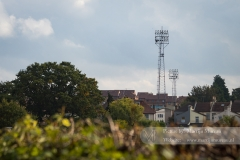 The Roots Hall stadium in Southend