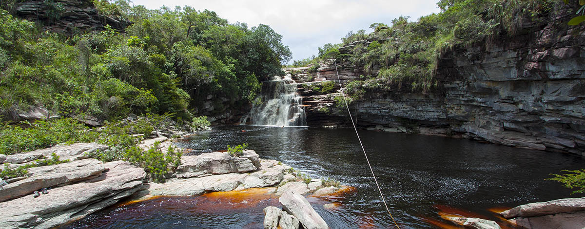 Poco do Diablo, Chapada Diamantina, near the town of Iraquara, Bahia, Brazil