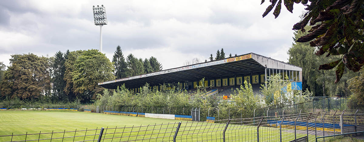 Stadion am Hermann-Löns-Weg, home of the defunct club 1. FC Union Solingen