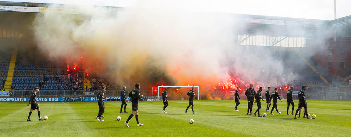 Laatste training NAC Breda, voor de wedstrijd tegen FC Eindhoven