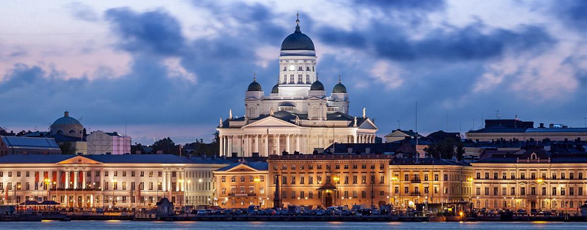 Skyline Helsinki, source: Wikipedia Commons