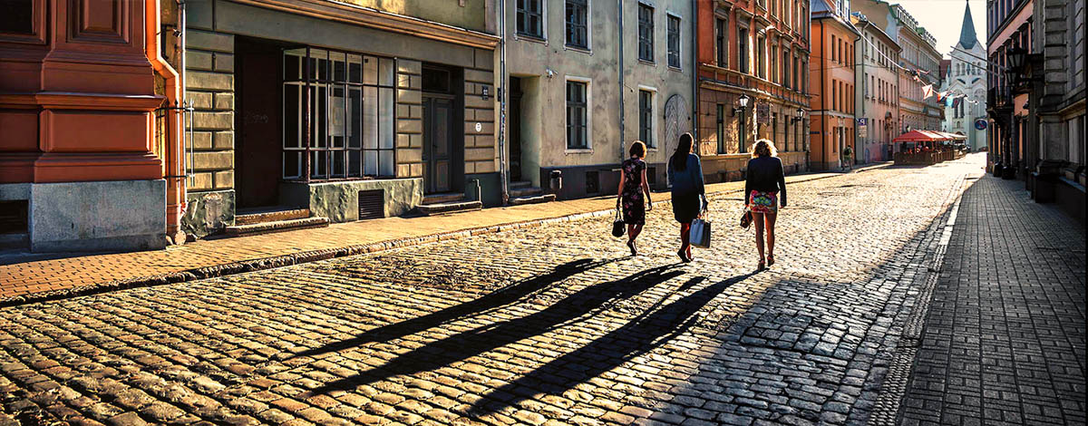 Lonely street in Riga, source: Google Images, searchfilter licensed for free use. Photographer unknown
