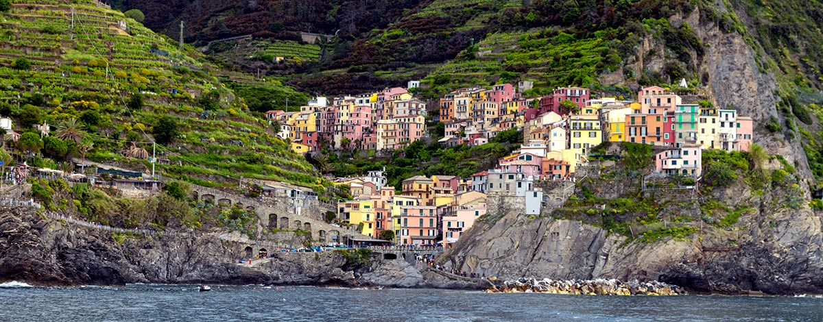 Op pad door Cinque Terre