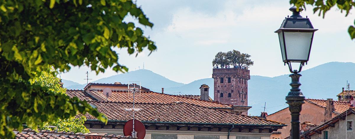 Mooie uitzichten in Lucca
