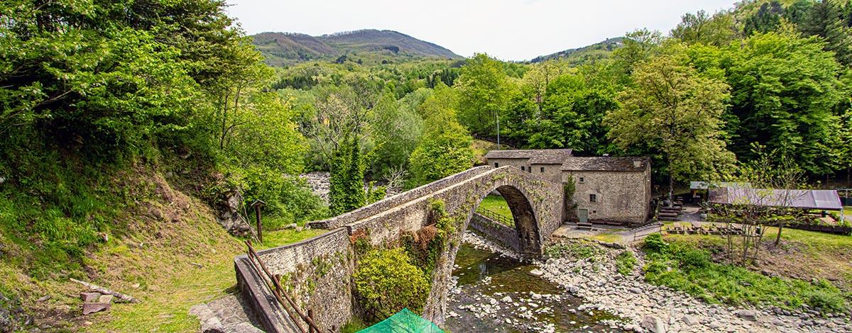 Ponte di Castruccio in Popiglio