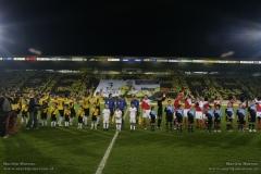 Rob Penders actie Breda Loco's NAC - FC Utrecht