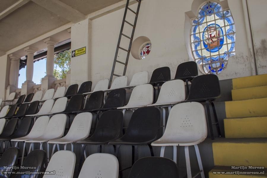 The stadium Estadio São Januário, former home of Rio de Janeiro based football club Vasco da Gama