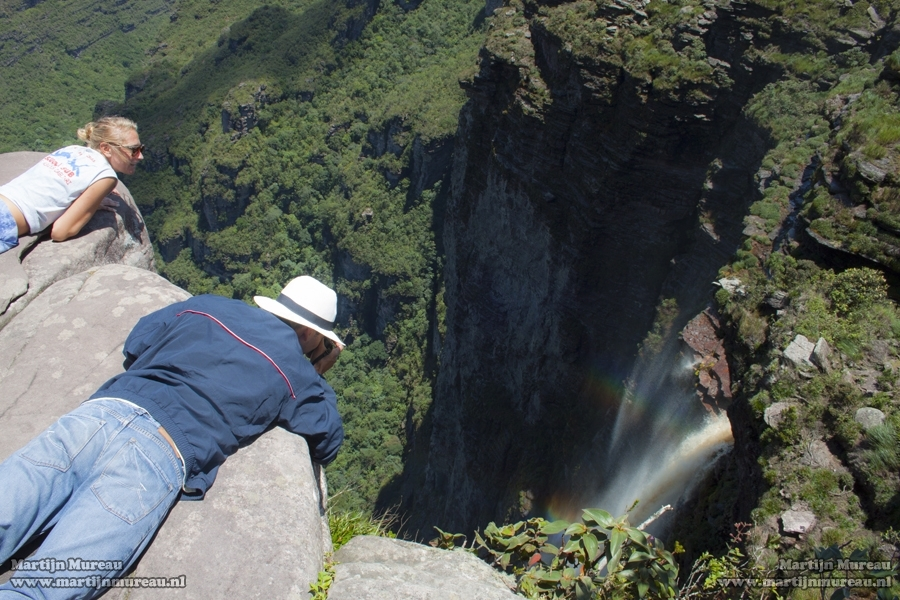 The Cachoeira da Fumaca, the highest waterfall in Brazil