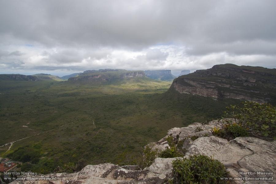 The magnificent view from Morro do Pai Inacio over the Chapada Diamantina