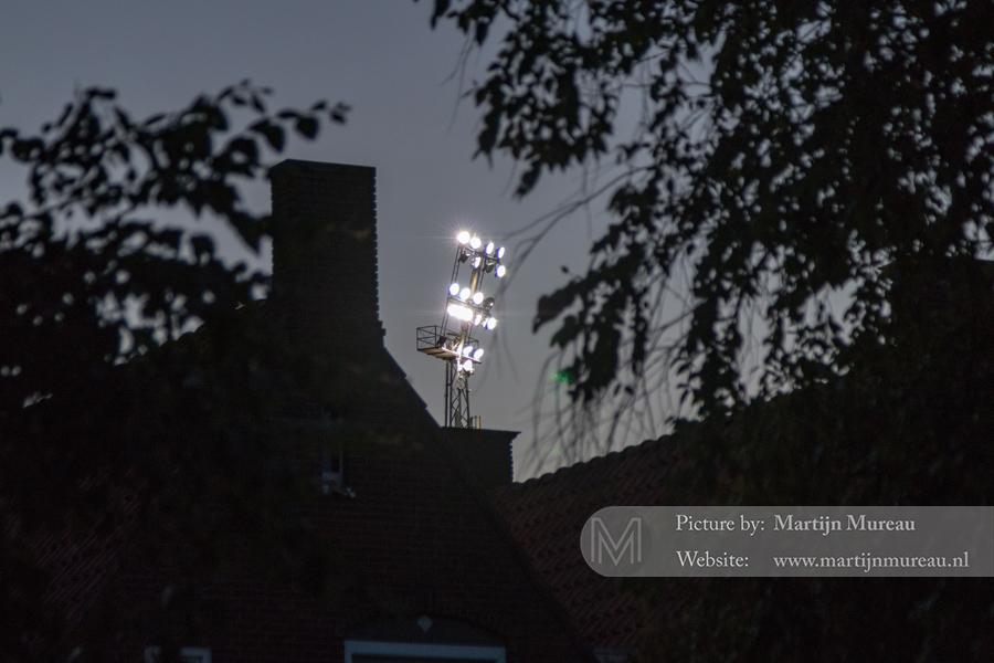 ...Het stadion ligt in een woonwijk: nostalgie
