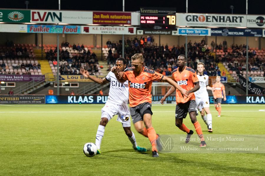 Wedstrijdmoment FC Volendam - NAC