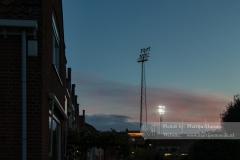 De floodlights van FC Volendam...