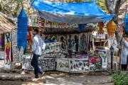 Selling goods in Dakshinchitra