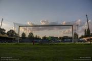 The match Berchem Sport vs Grimbergen in the Ludo Coeck Stadium in Antwerp's suburb Berchem