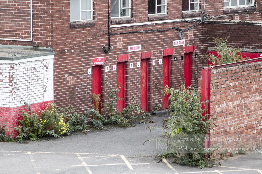 De oude toegangspoorten
