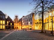 Rathaus tijdens het Blauwe Uurtje