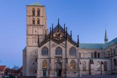 St. Paulus-Dom tijdens het Blauwe Uurtje