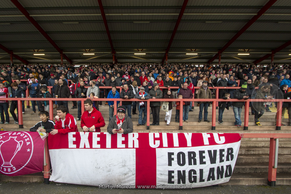 Fans van Exeter City
