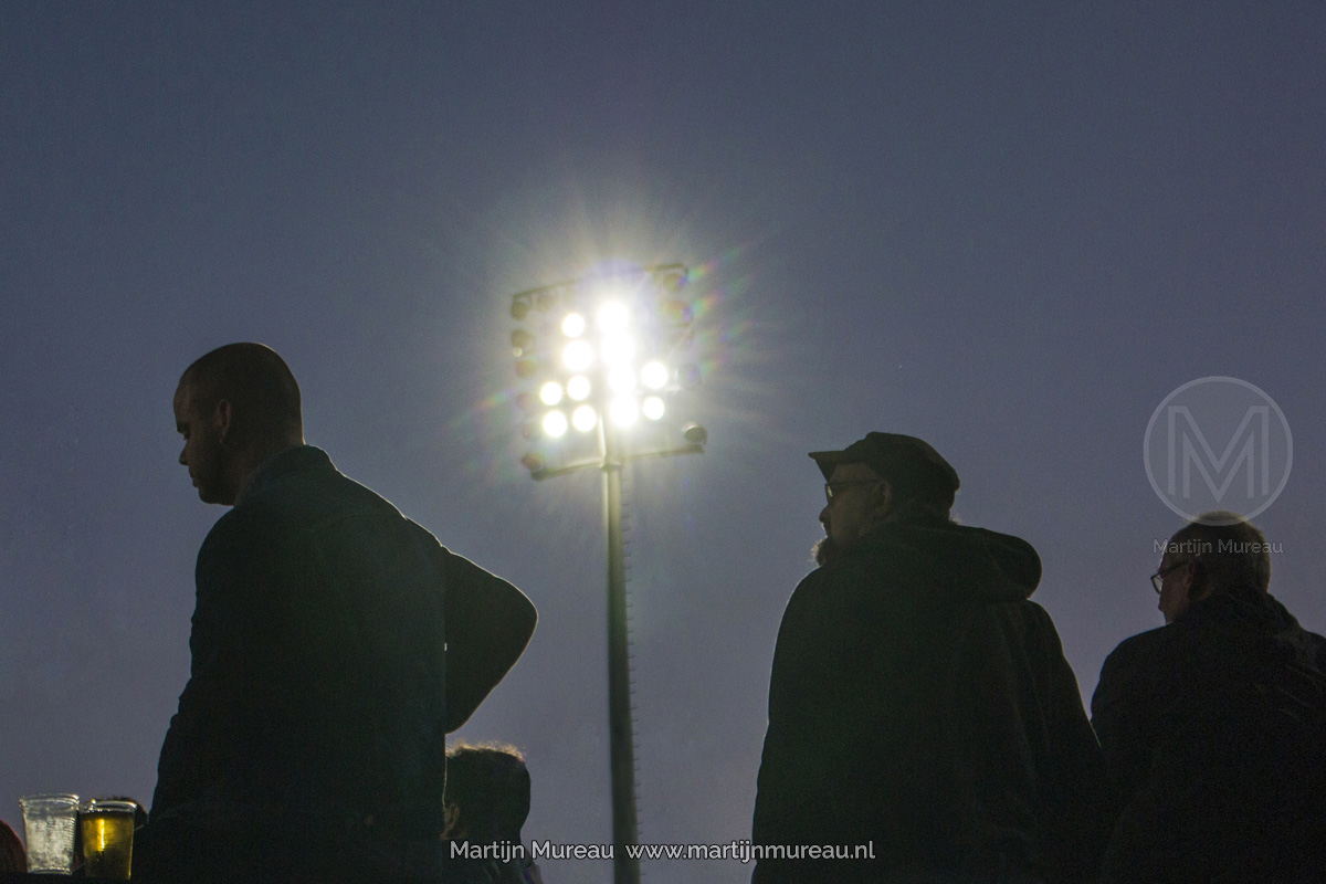 De floodlights van Babelsberg