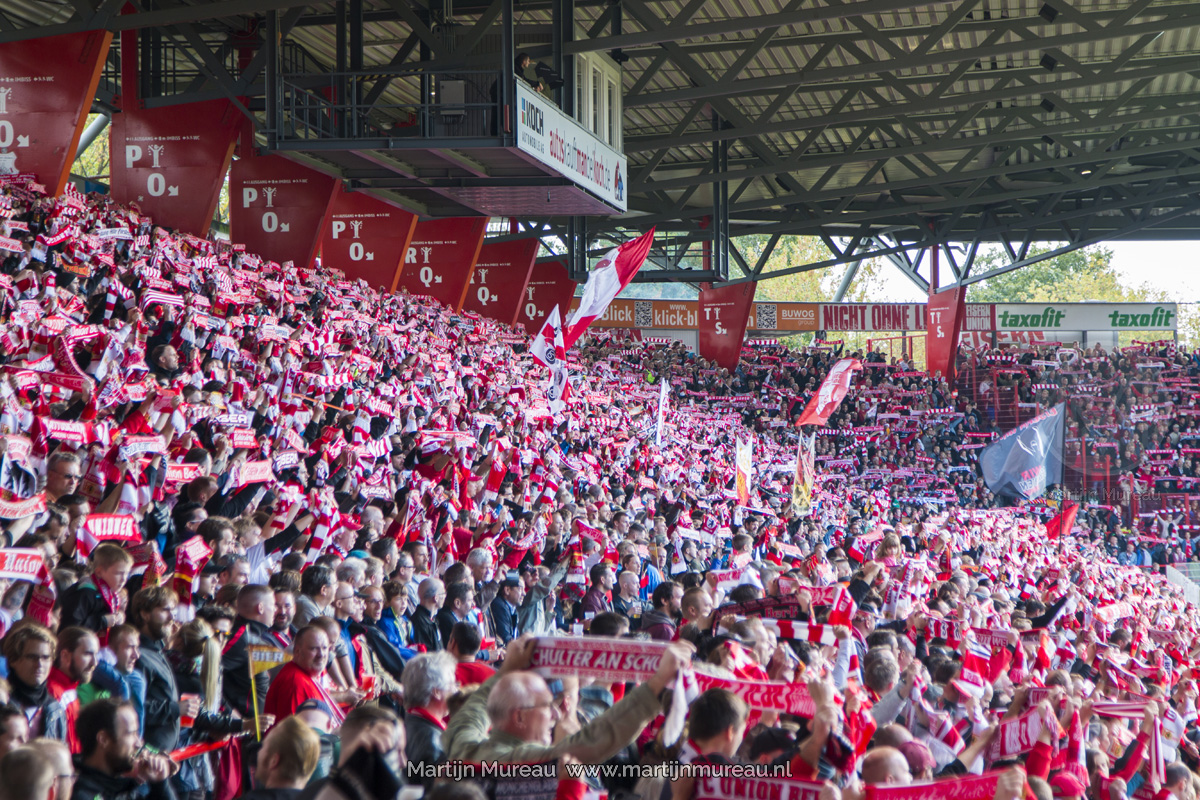 Fans van Union Berlin