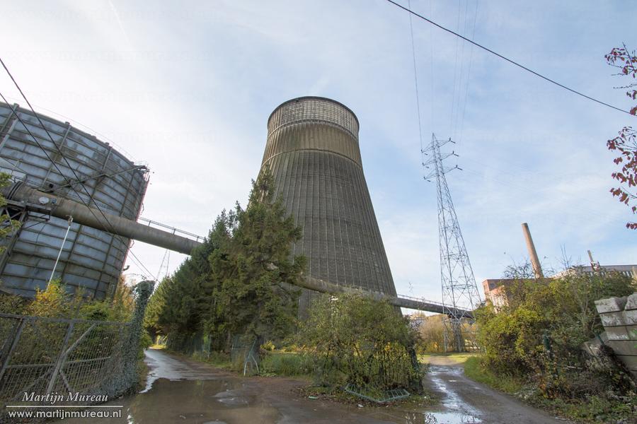 De koeltoren van Power Plant IM