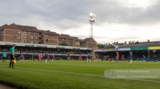 A view over Roots Hall, during an attack of Southend United