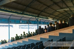 Also at the Roots Hall a number of fans are standing