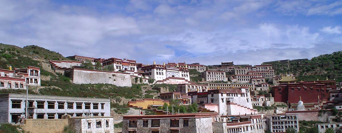 Tibet, Gandan Klooster