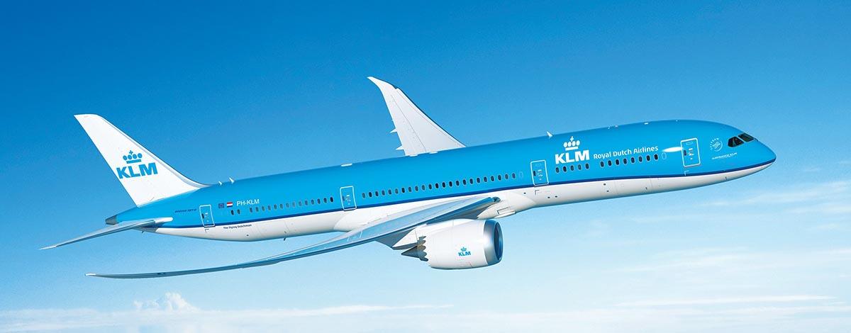 KLM vliegtuig, foto afkomstig van Wikipedia
