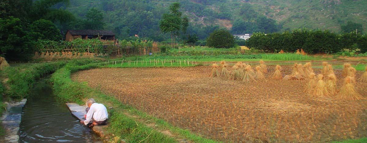Yuangshuo platteland