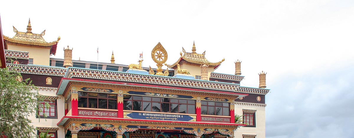 Bylakubbe: Tibetaanse vluchtelingenkampen