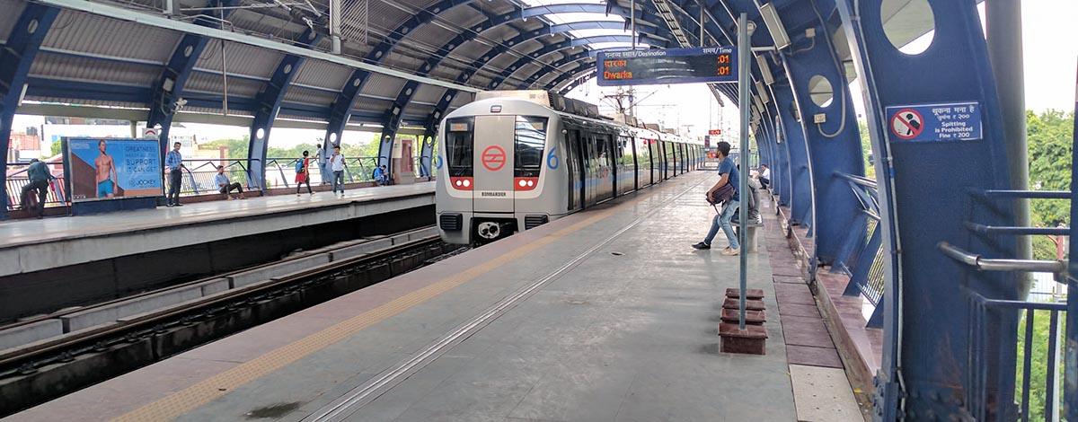 Metro, New Delhi