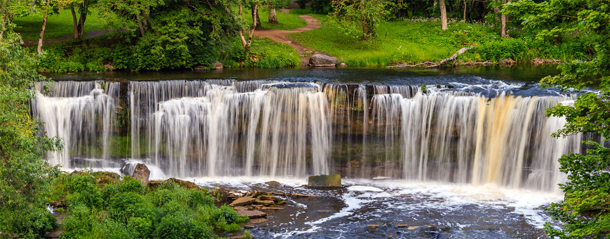 Waterfalls of Keila, source: Google Images, searchfilter licensed for free use. Photographer unknown