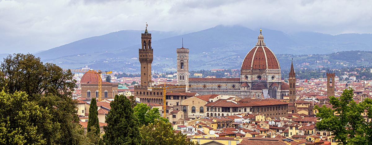 De skyline van Florence
